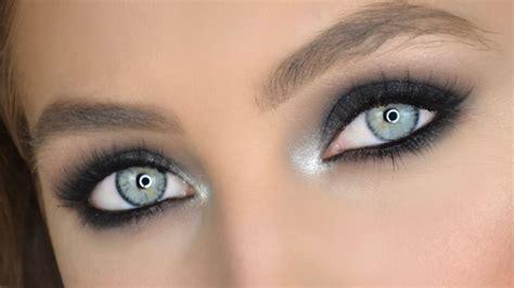 tutorial eyeliner nero trucco smokey eyes nero makeup tutorial youtube