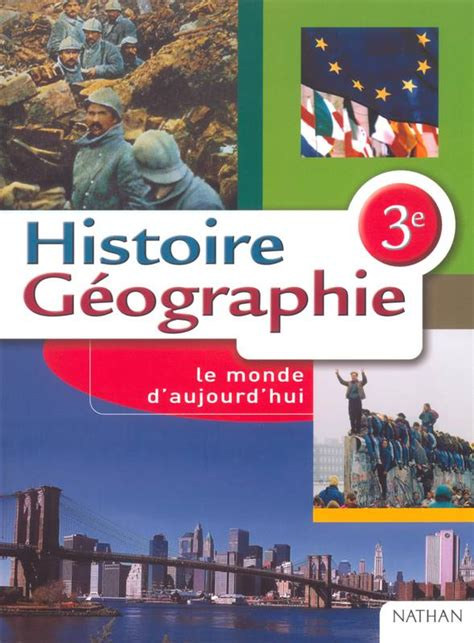 histoire gographie 5e programme livre histoire g 233 ographie 3 232 me programme 1999 danielle chigny nathan chigny marca