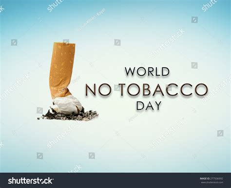 No Tobacco Day Essay by World No Tobacco Day Elements This Stock Photo 277506992