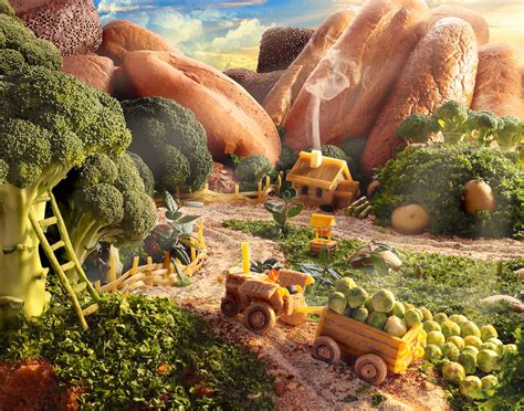 Landscape With Food The Foodscapes Of Carl Warner