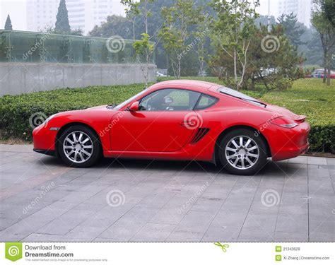 Porsche Sportwagen by Roter Porsche Sportwagen Redaktionelles Stockfoto Bild