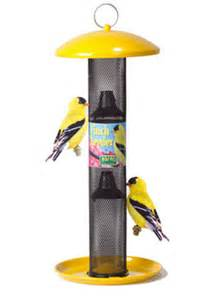 duncraft com all metal yellow finch feeder