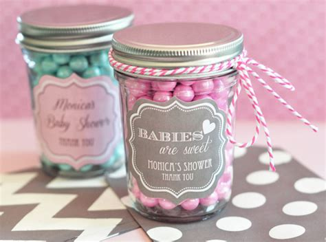 Baby Shower Giveaways Canada by Personalized Baby Mini Jars Personalized Baby
