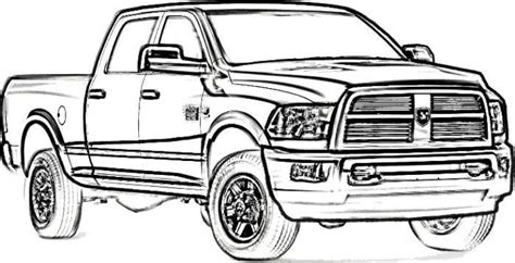 dodge car coloring page dodge ram 2500 drawing ride a quot cart quot pinterest dodge