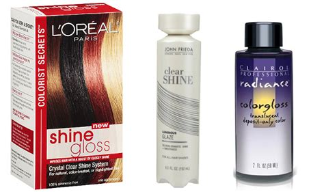 hair glaze color treatment pics 5 great hair gloss treatments
