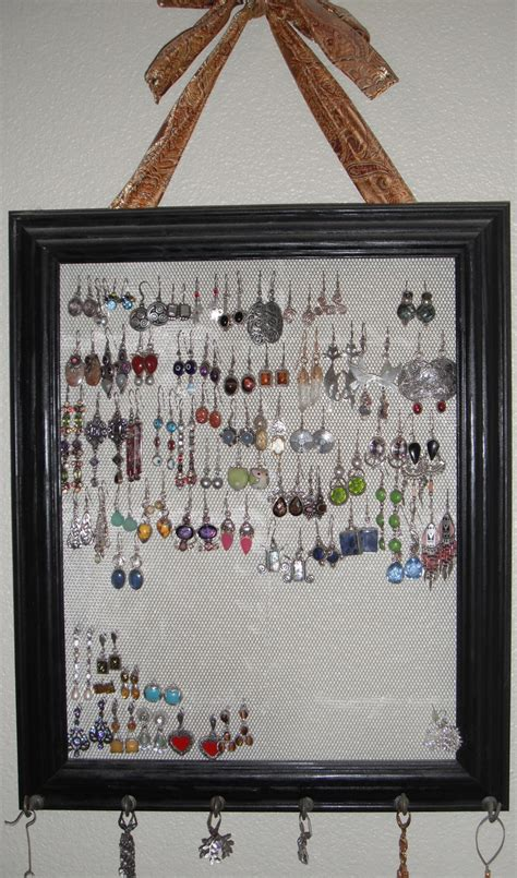 17 best images about picture frame earring holder on