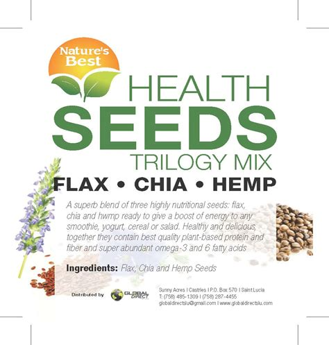 Nature S Energy Organic Chia Seeds 100 Gr natures best seeds trilogy mix chia flax hemp 1oz global direct st lucia
