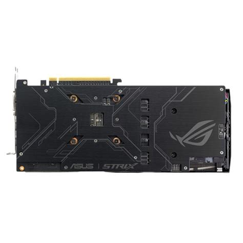 Vga Asus Geforce Rog Strix Gtx1060 6g Gaming 6gb Gddr5 vga asus strix gtx1060 6g gaming 6gb gddr5 dvi