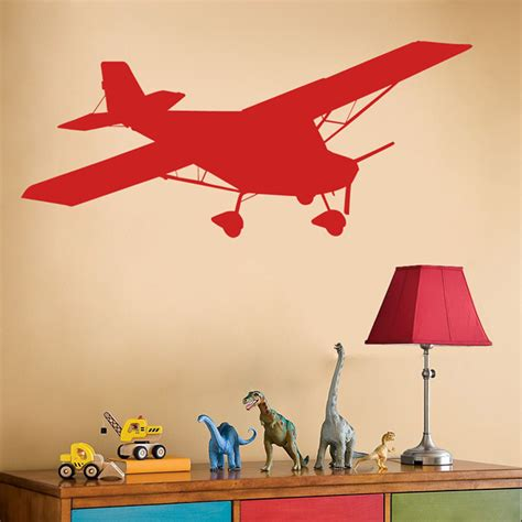 aeroplane wall stickers airplane decal wall decals sticker graphic