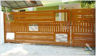 gate design for home new models photos modern homes gate design keralareal estate kerala free