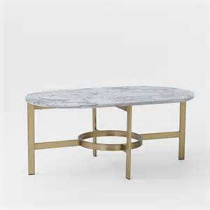 Oval Marble Coffee Table Marble Oval Coffee Table