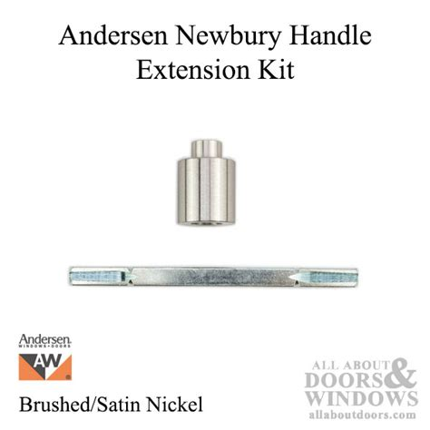 andersen door handle extension discontinued andersen handle extension kit newbury