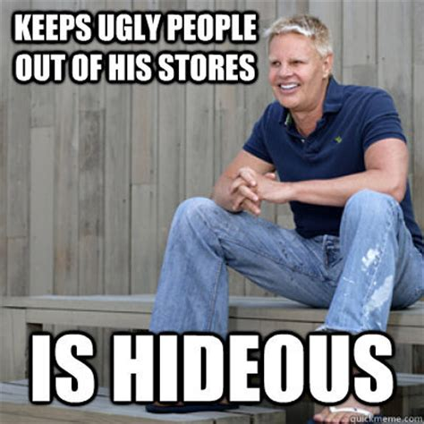 Fat Ugly Meme - abercrombie fitch plus size women controversy off