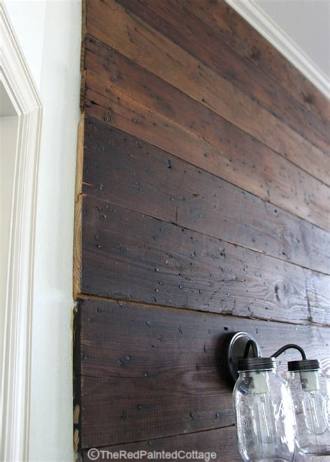 Best Stain For Shiplap If You Re Lucky Enough To Find Authentic Shiplap Your