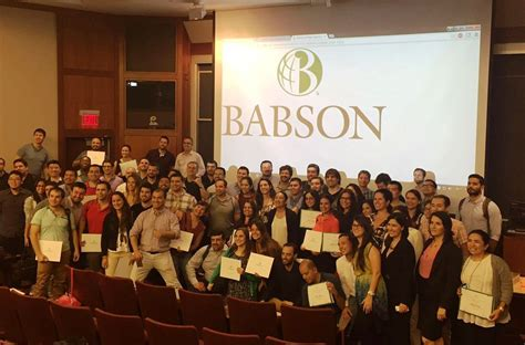 Is Babson Mba Any by Viaje Mba A Babson College Universidad Desarrollo