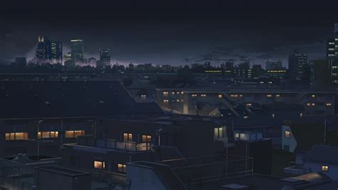 anime city desktop wallpapers aesthetic desktop