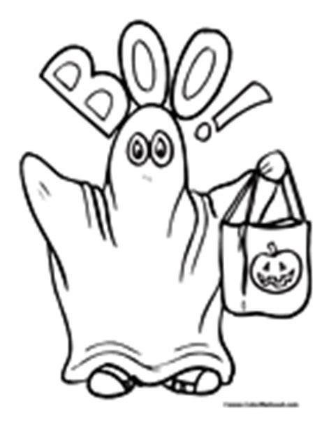 ghost boo coloring page ghost coloring pages