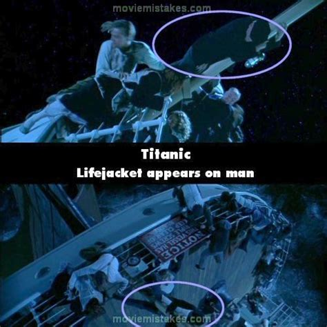 Titanic Film Bloopers | 15 biggest mistakes in titanic