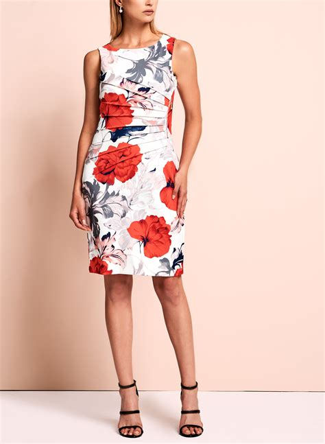 Branded Ivanka Scuba Floral Dress ivanka floral scuba dress melanie lyne