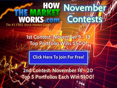 November Contest by November Investing Contest Results Howthemarketworks