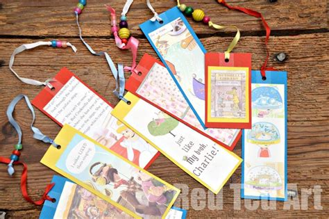 world book day craft easy bookmarks ted s