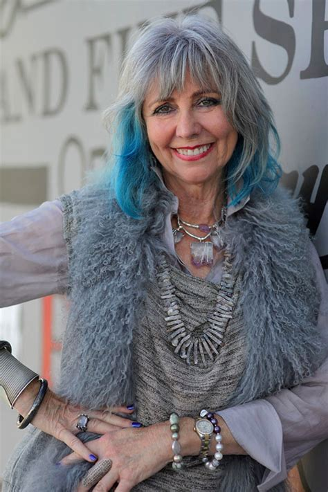 dolores forsythe this is how older ladies pull off would you go blue hair romance