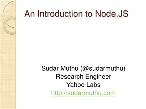 node js beyond the basics advanced topics about the node js runtime books a slightly advanced introduction to node js