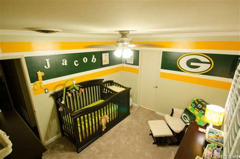 green bay packers bedroom ideas greenbay packer themed nursery