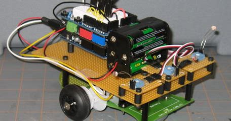 membuat robot light follower cara membuat robot light following dengan arduino