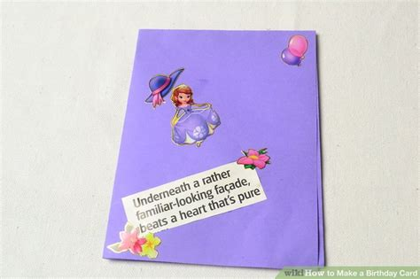 How To Make A Birthday Card