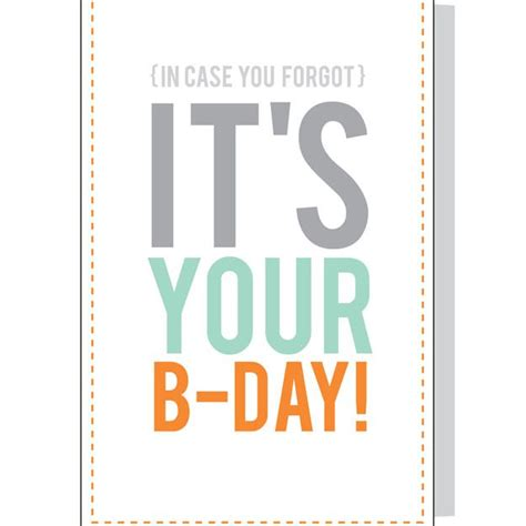 Free Birthday Cards To Print Out