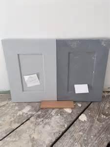 Fake Hardwood Floor - dark or light grey kitchen cabinets
