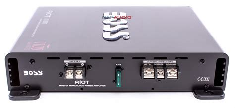 Box Power Lifier M 1100 1 new audio r1100m 1100w riot series monoblock class a