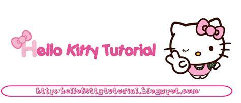 tutorial gambar hello kitty cara pasang youtube player di atas header