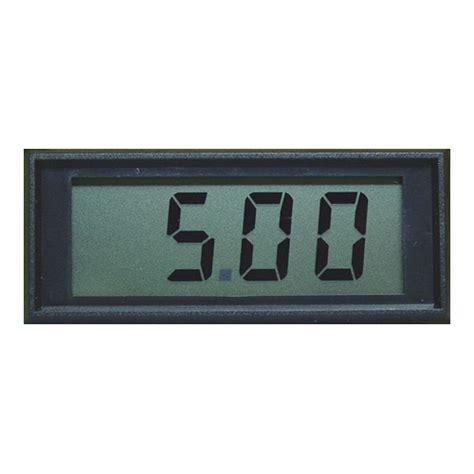 Panel Meter New Mini Lcd Panel Meter Cx101b Digital Panel Meters
