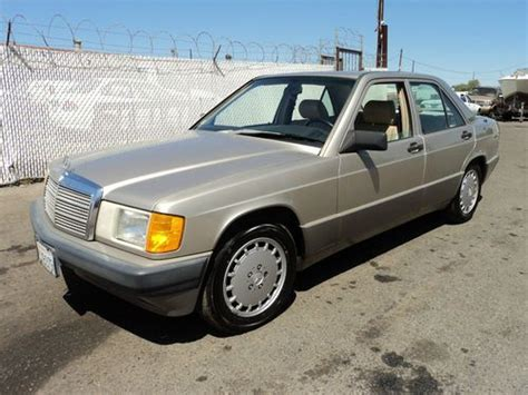 how make cars 1990 mercedes benz w201 security system buy used 1990 mercedes benz 190e 2 6 sedan 4 door 2 6l no reserve in orange california united