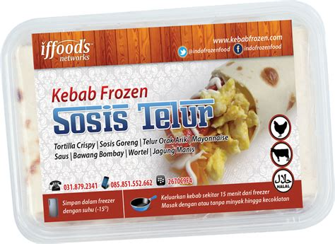 Kebab Frozen jual kebab frozen surabaya aneka rasa