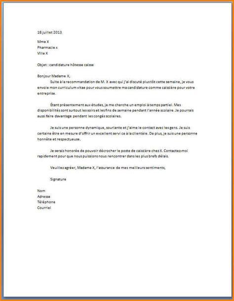 Lettre De Motivation Candidature Spontanée Carrefour 6 Lettre De Motivation Caissi 232 Re Carrefour Format Lettre