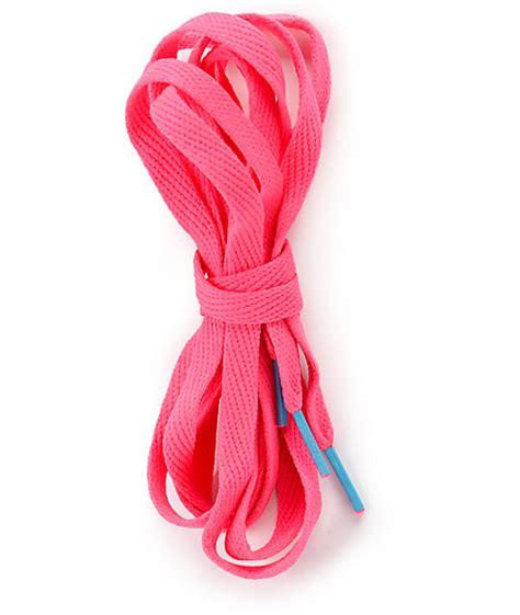 mr lacy flatties ct neon pink shoe laces