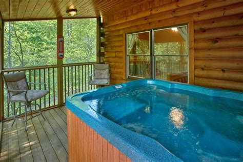 Big Cabins With Tub secluded pigeon forge cabin big