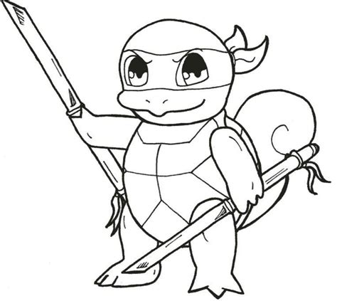 squirtle coloring page az coloring pages