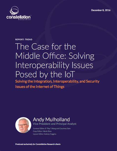 Middle Office by The For The Middle Office Solving Interoperability
