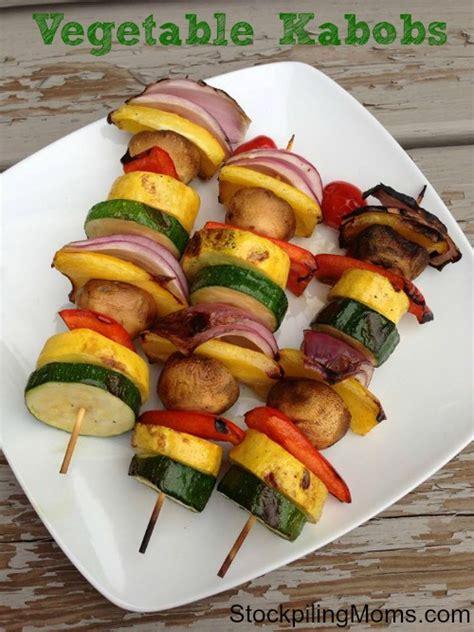 vegetables kabobs vegetable kabobs
