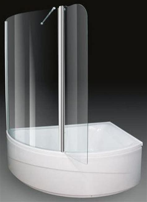 shower corner bath corner shower bath with screen right 1500x1000mm aquaestil comet aq cometsbr