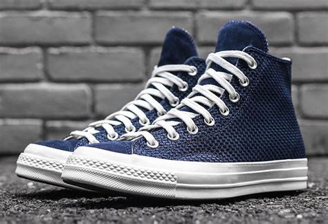 Converse Ct As 70s Hi Woven Obsidian Converse Chuck All Woven High Obsidian