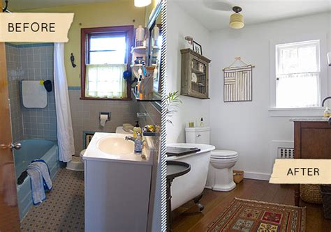 Before & After: A Mismatched 1950s Bathroom Gets Simplified ? Design*Sponge