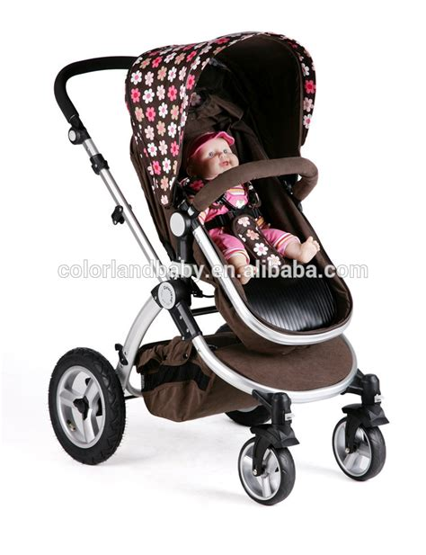 4 seat doll stroller multifunctional high baby doll stroller with car seat