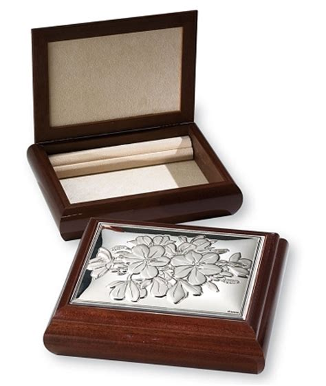 s day flowers silver box sterling silver jewelry box organizer flowers large made
