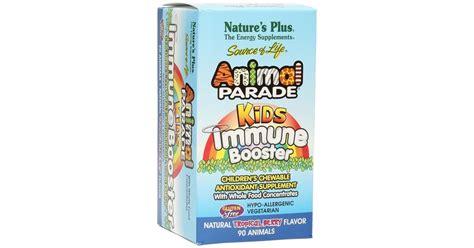 Natures Plus Animal Parade Immune Booster 90s animal parade 174 immune booster 90 lozenges nature s plus vitalabo europe