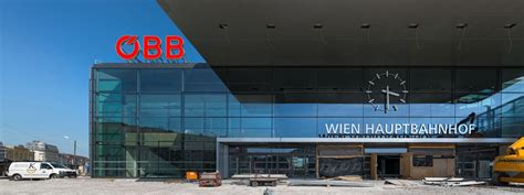 wien hauptbahnhof almost completed the new central railway station in